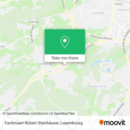 Fachmaart Robert Steinhäuser map