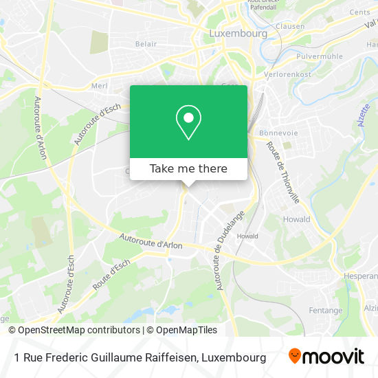 1 Rue Frederic Guillaume Raiffeisen map