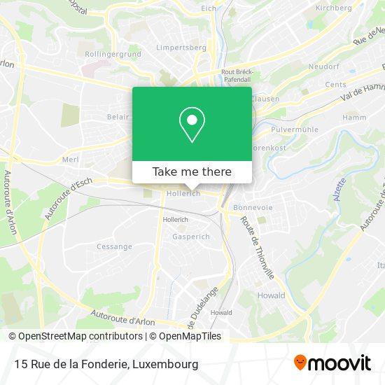 15 Rue de la Fonderie map