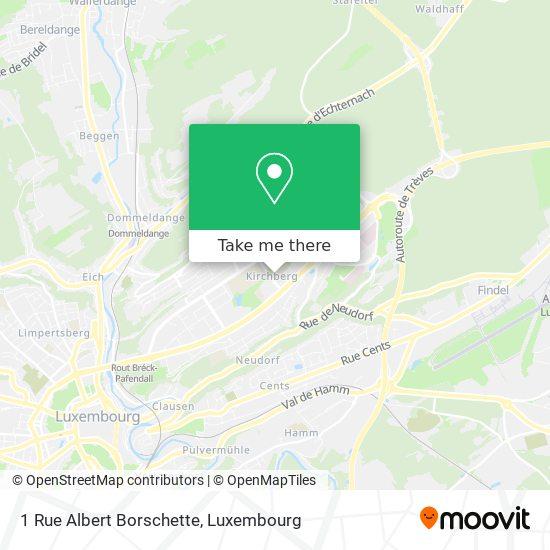 1 Rue Albert Borschette map