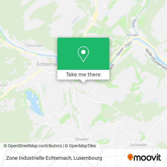 Zone Industrielle Echternach map