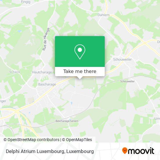 Delphi Atrium Luxembourg map