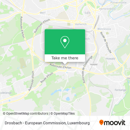 Drosbach - European Commission map