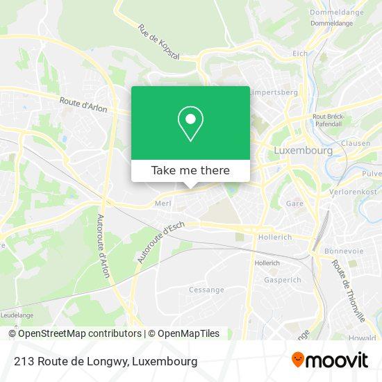 213 Route de Longwy map