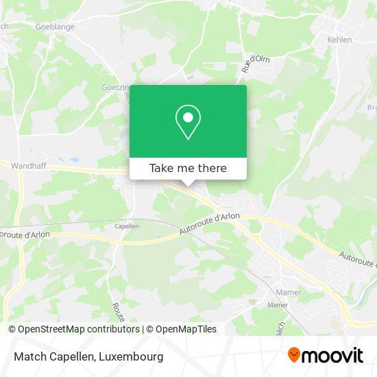 Match Capellen map