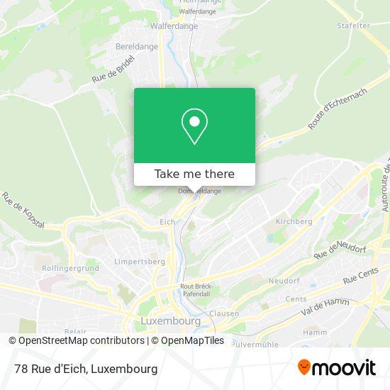 78 Rue d'Eich map