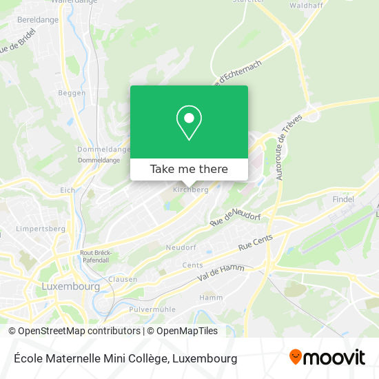 École Maternelle Mini Collège map