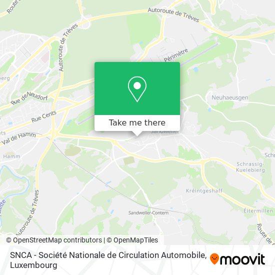 SNCA - Société Nationale de Circulation Automobile map