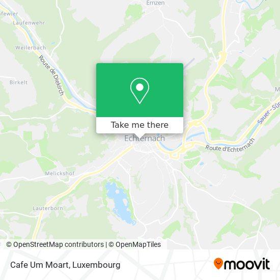 Cafe Um Moart map