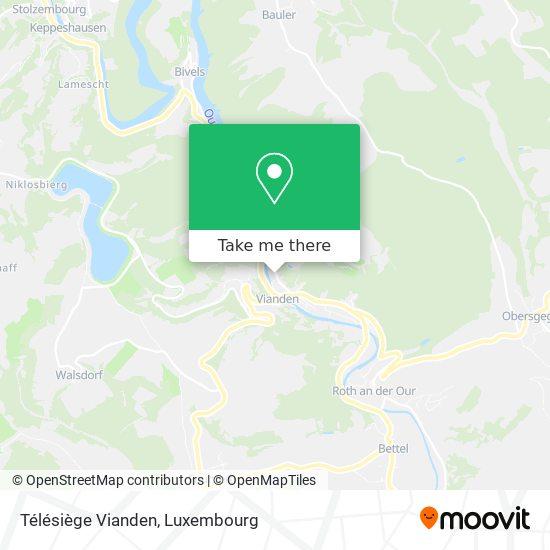 Télésiège Vianden Karte