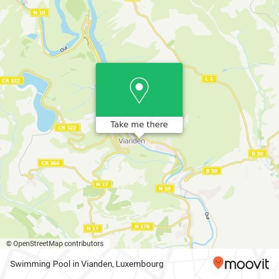 Swimming Pool in Vianden mapa