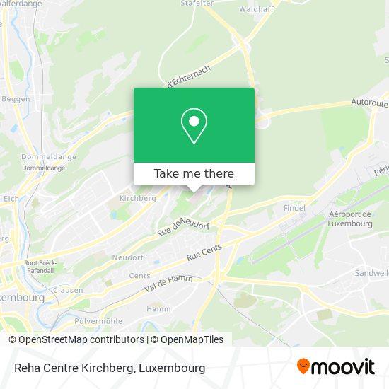 Reha Centre Kirchberg map