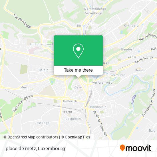 place de metz map