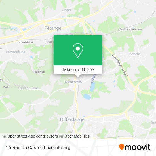 16 Rue du Castel map