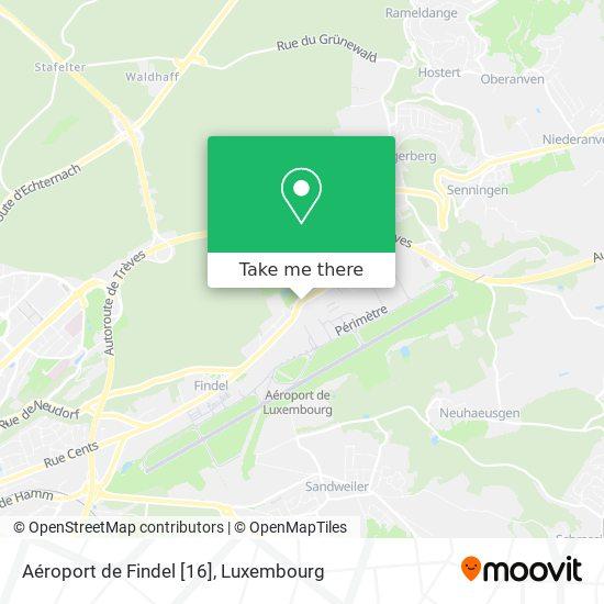 Aéroport de Findel [16] map