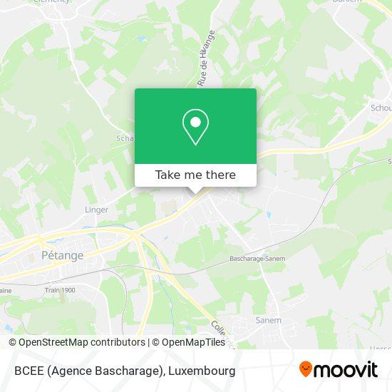BCEE (Agence Bascharage) map