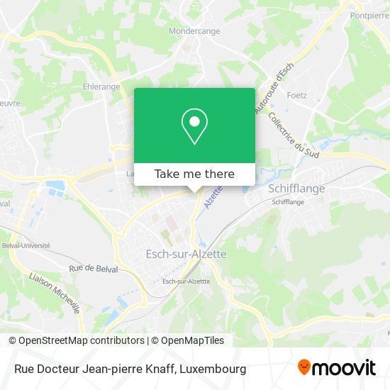 Rue Docteur Jean-pierre Knaff map
