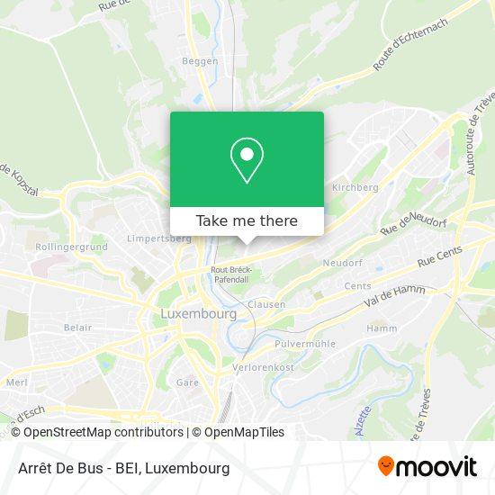 Arrêt De Bus - BEI map