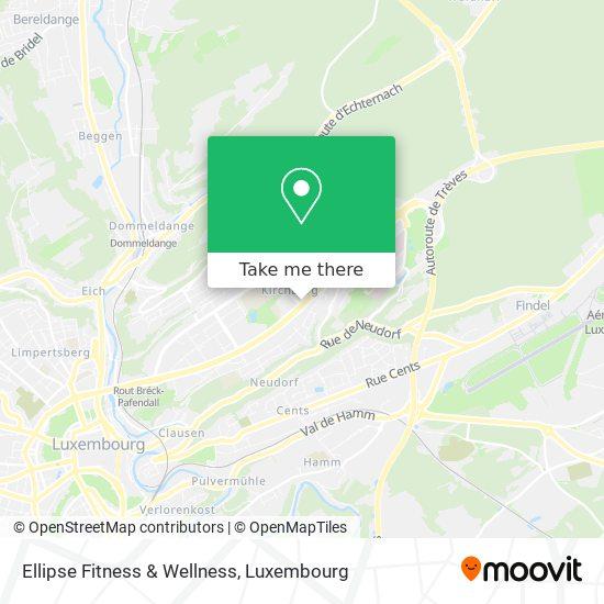 Ellipse Fitness & Wellness map