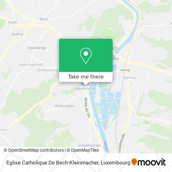 Eglise Catholique De Bech-Kleinmacher map