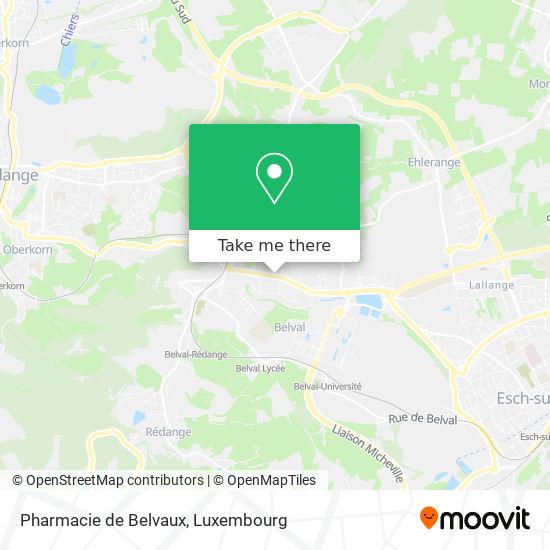 Pharmacie de Belvaux map