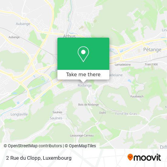 2 Rue du Clopp map