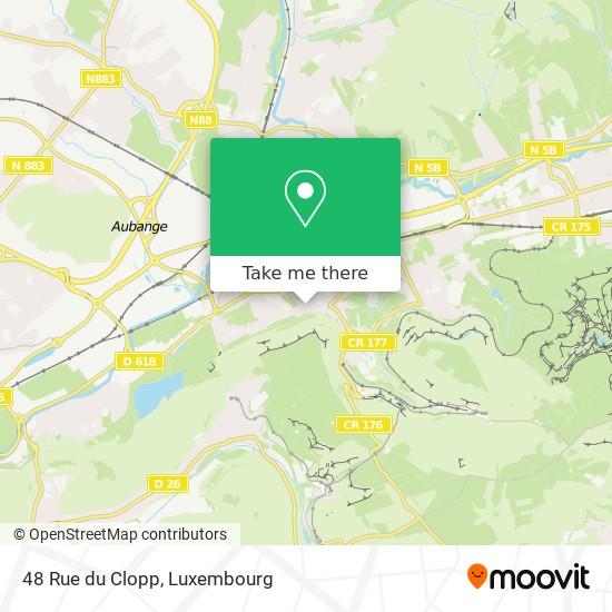48 Rue du Clopp map