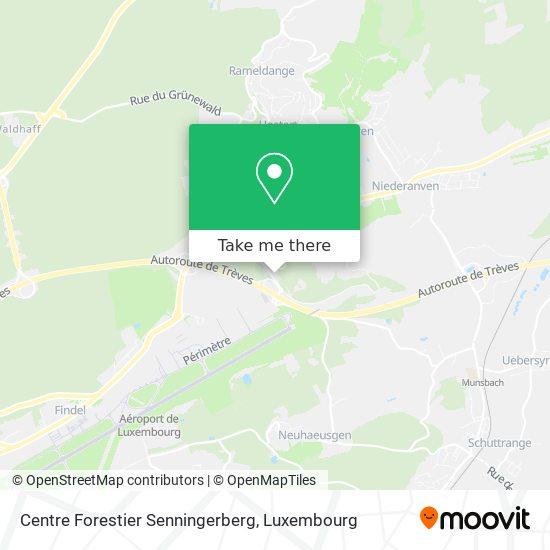 Centre Forestier Senningerberg map