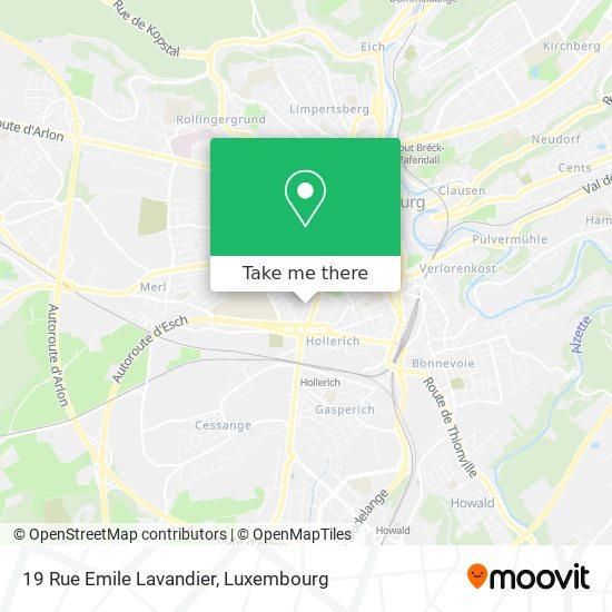 19 Rue Emile Lavandier map