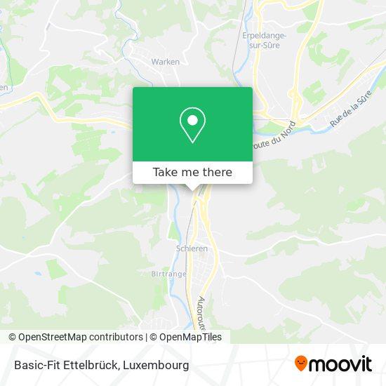 Basic-Fit Ettelbrück map