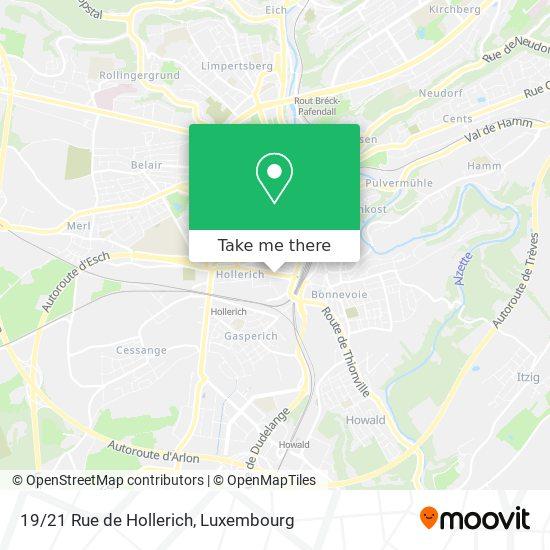19/21 Rue de Hollerich map