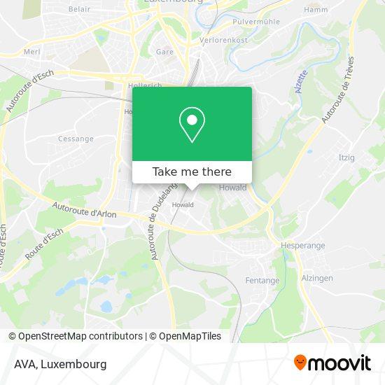 AVA map