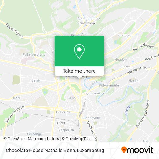 Chocolate House Nathalie Bonn map