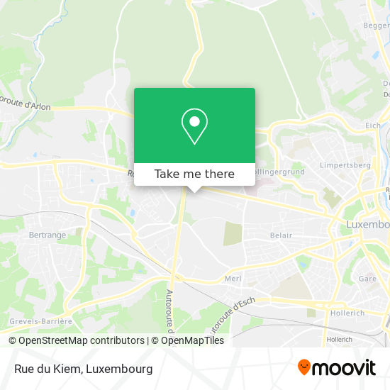 Rue du Kiem map