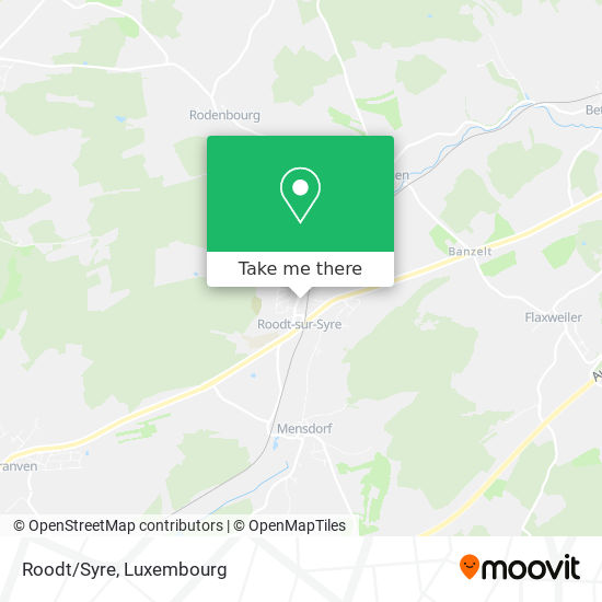 Roodt/Syre map