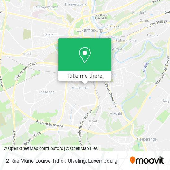 2 Rue Marie-Louise Tidick-Ulveling map