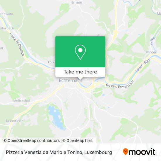 Pizzeria Venezia da Mario e Tonino map