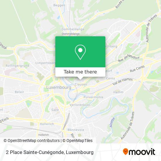 2 Place Sainte-Cunégonde map