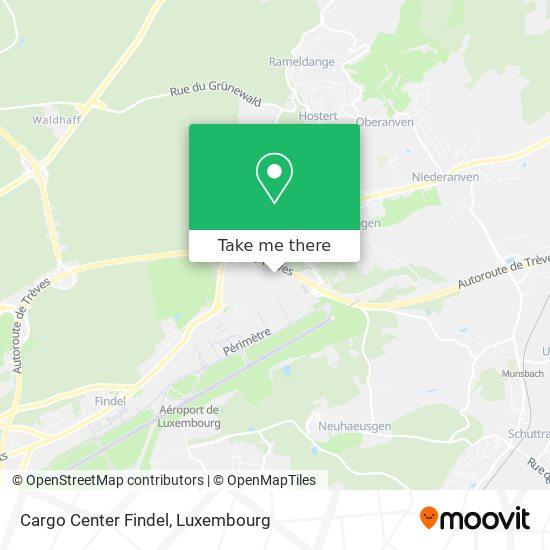 Cargo Center Findel map
