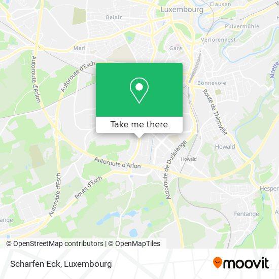 Scharfen Eck map
