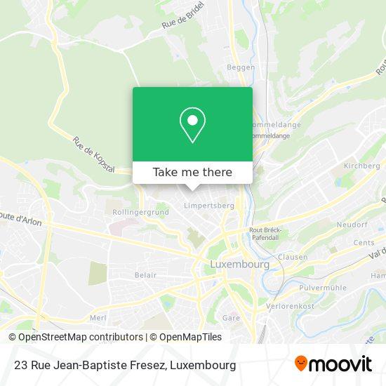 23 Rue Jean-Baptiste Fresez map