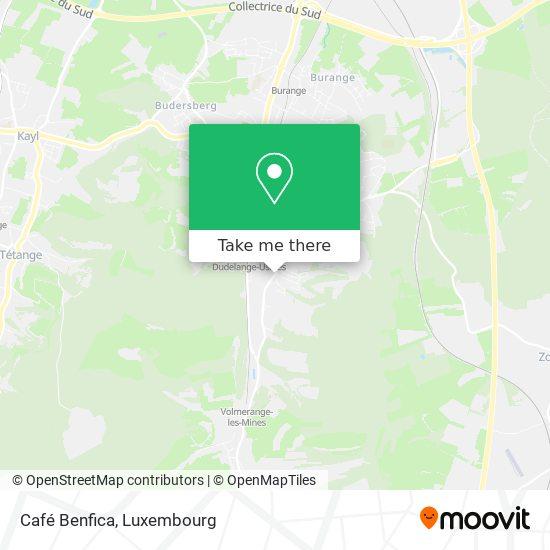 Café Benfica map