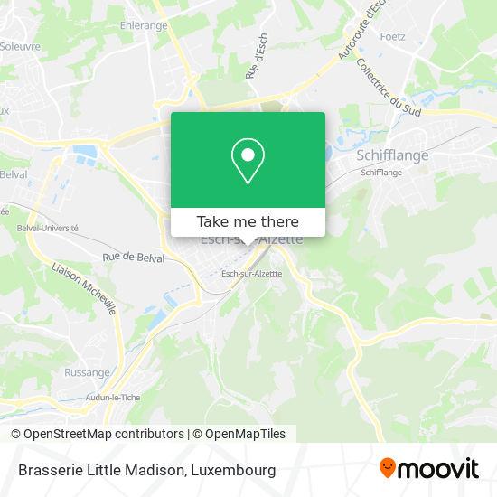 Brasserie Little Madison map
