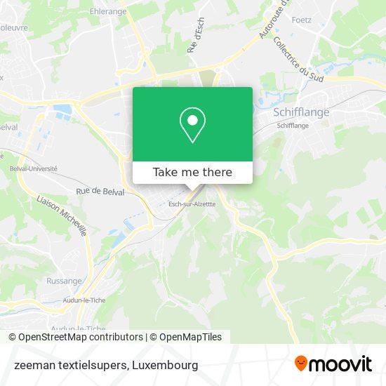 zeeman textielsupers map