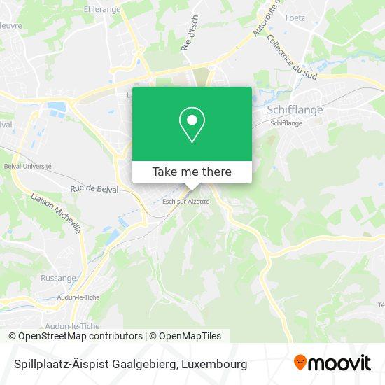 Spillplaatz-Äispist Gaalgebierg map