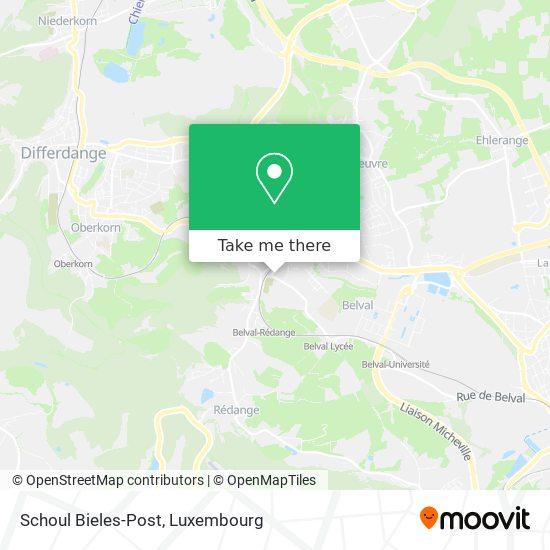 Schoul Bieles-Post map