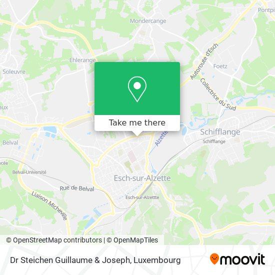 Dr Steichen Guillaume & Joseph map