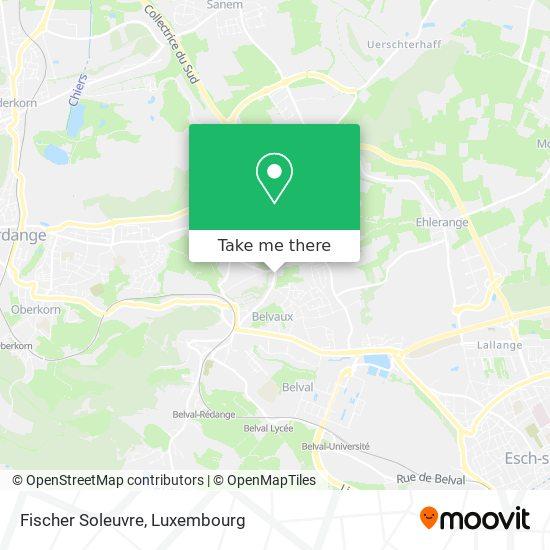 Fischer Soleuvre map