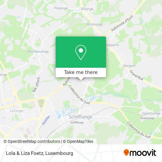 Lola & Liza Foetz map