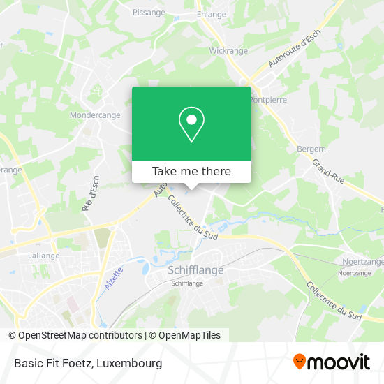 Basic Fit Foetz map